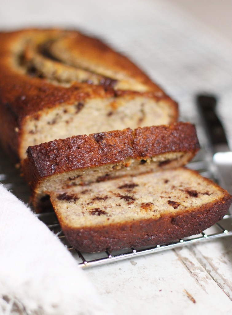 Chocolate Chip Banana Bread 2