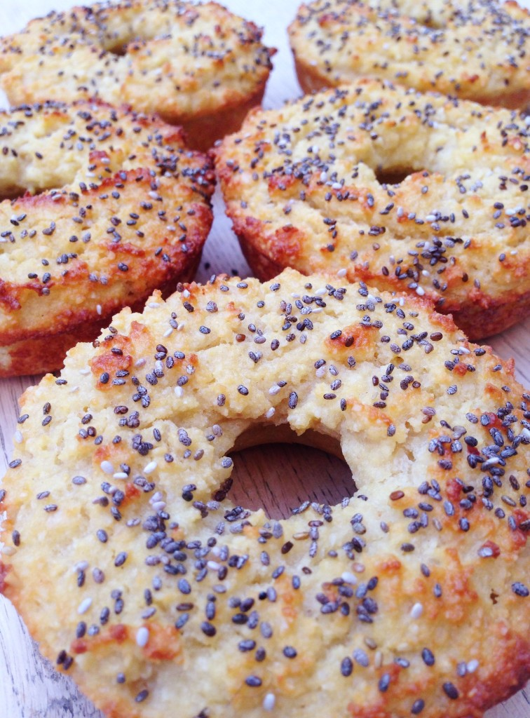 Grain Free Chia Seed Bagels - The Little Green Spoon