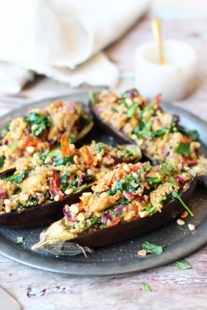 Stuffed Aubergine 5