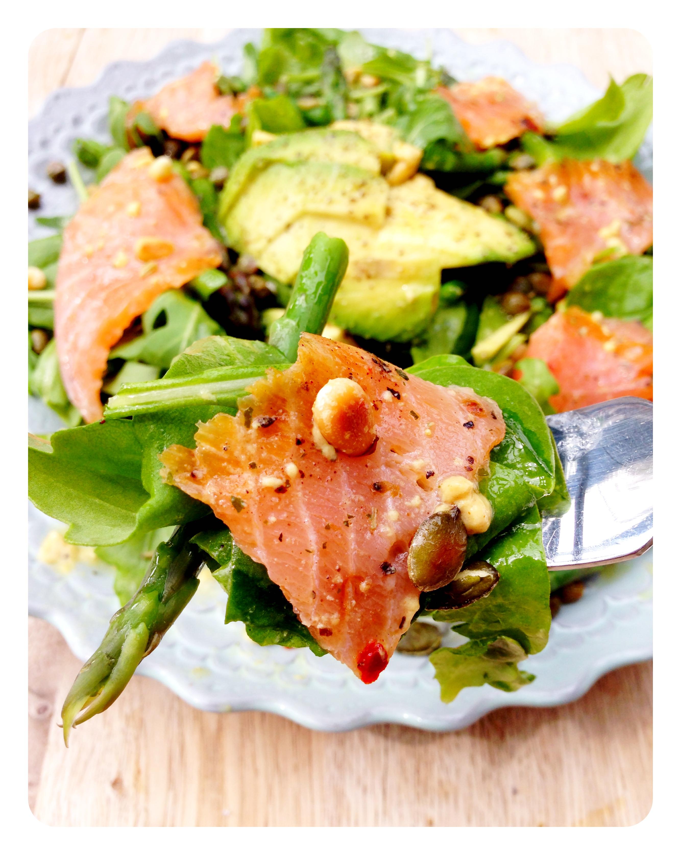 how to prepare smoked salmon