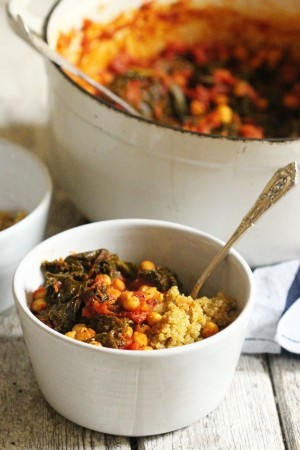Kale Chickpea Stew 1