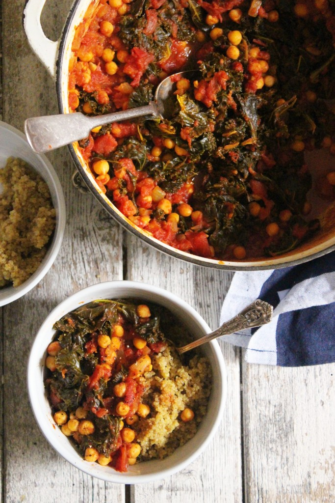 Kale Chickpea Stew 4