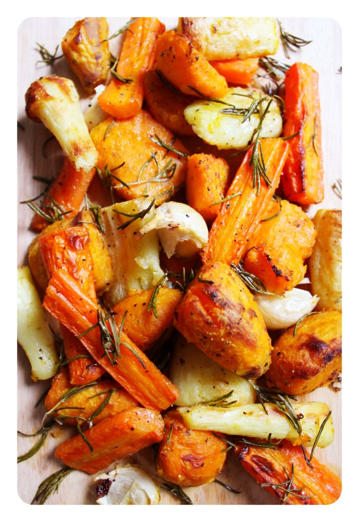 Rosemary Roast Vegetables Sweet Potato Carrot Parsnip