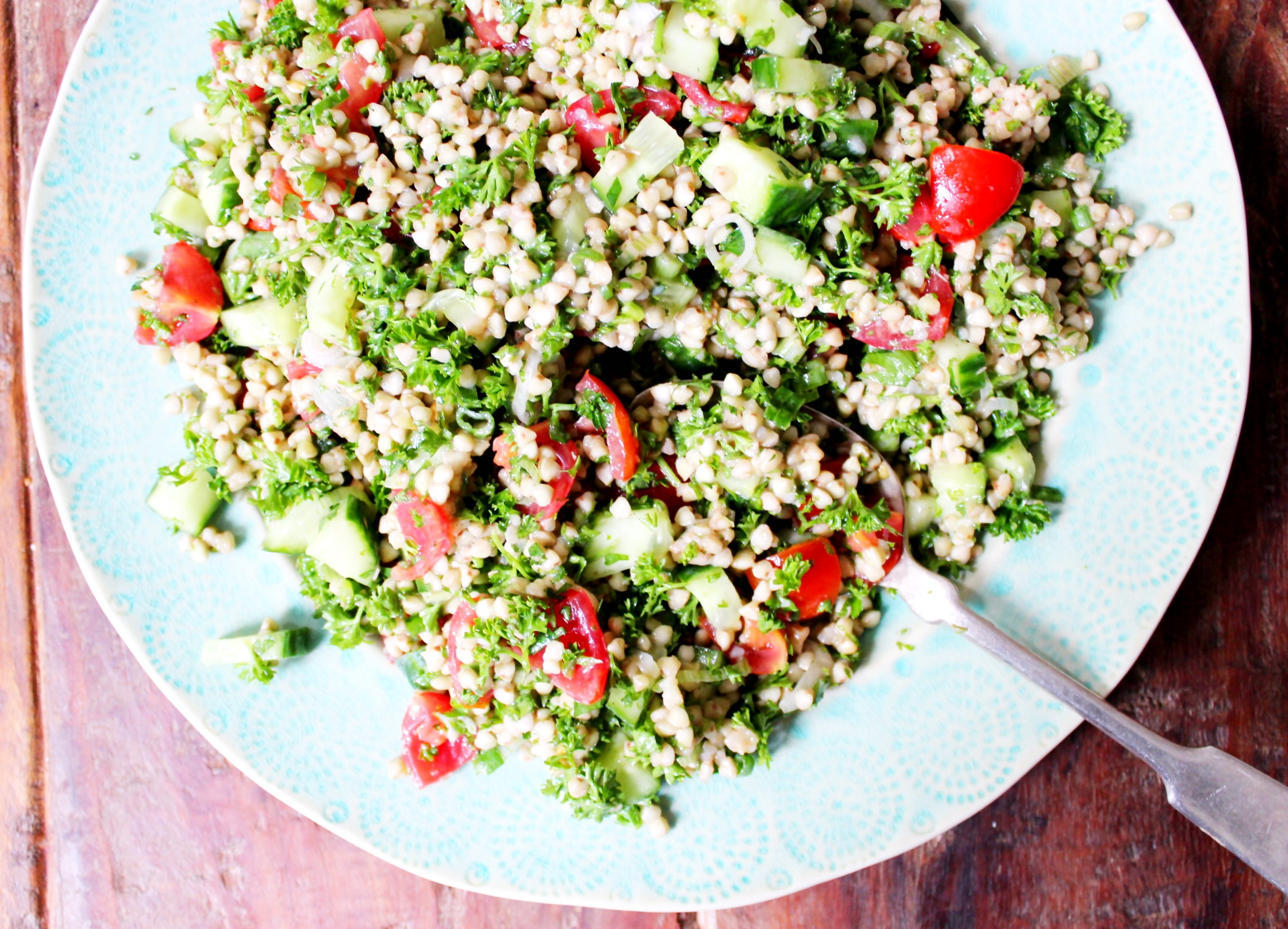 Buckwheat Tabbouleh - The Little Green Spoon