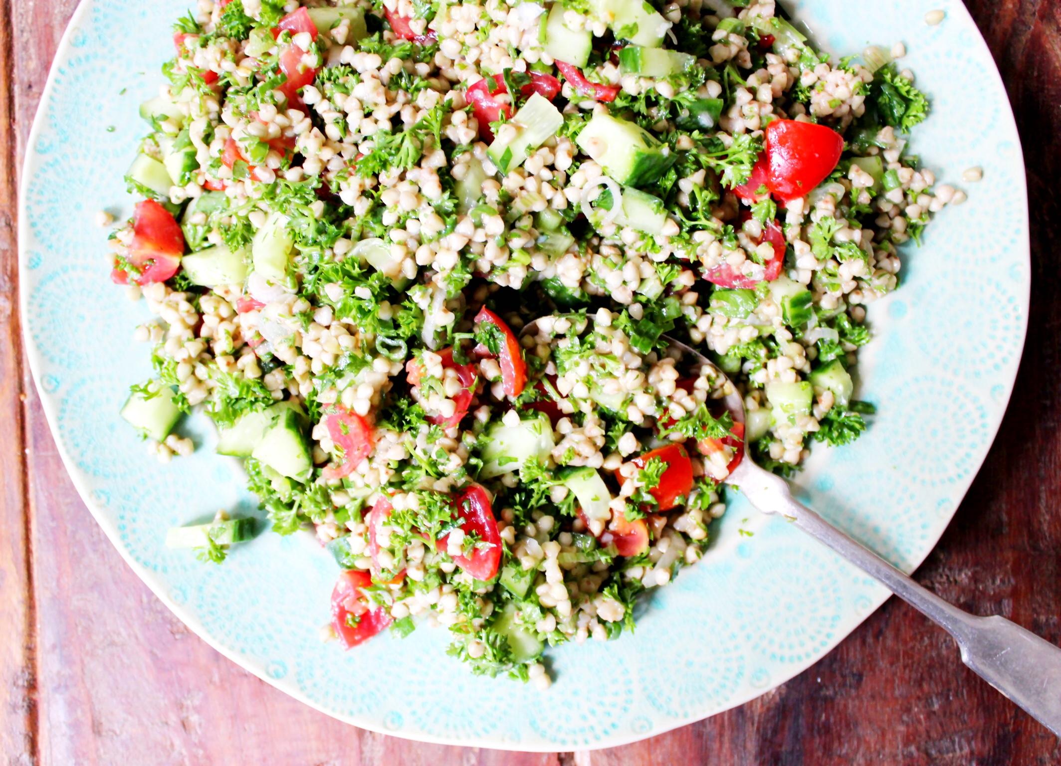 Buckwheat Tabbouleh - The Little Green Spoon