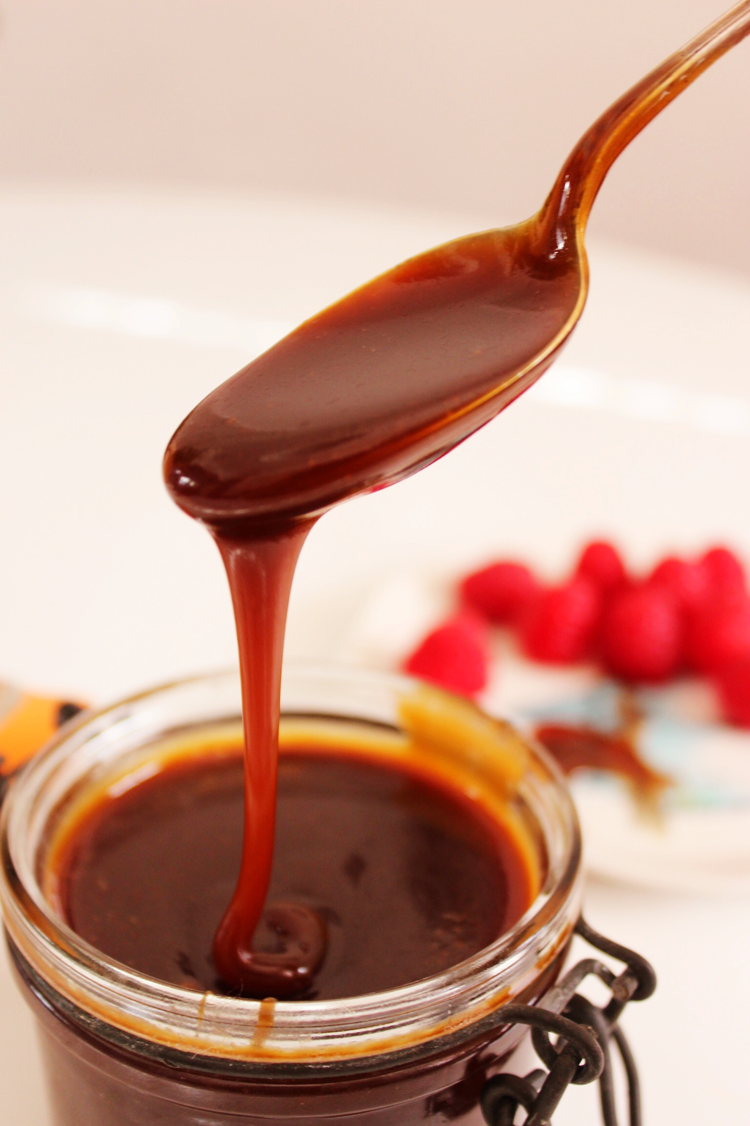 Salted Caramel Sauce - The Little Green Spoon