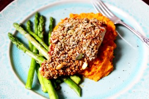 Sun Dried Tomato Seed Crusted Cod The Little Green Spoon