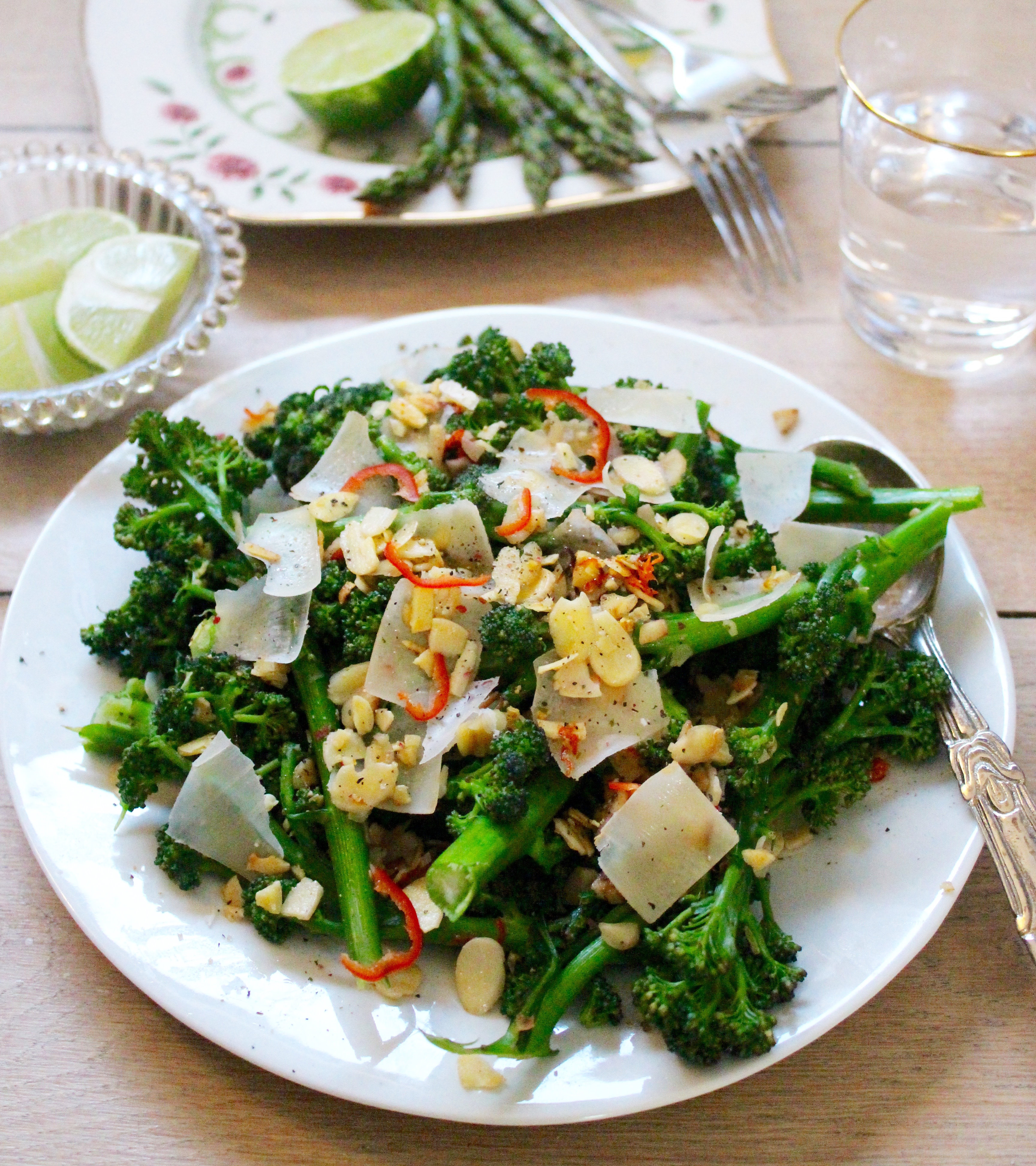 Broccoli Chili & Almonds1