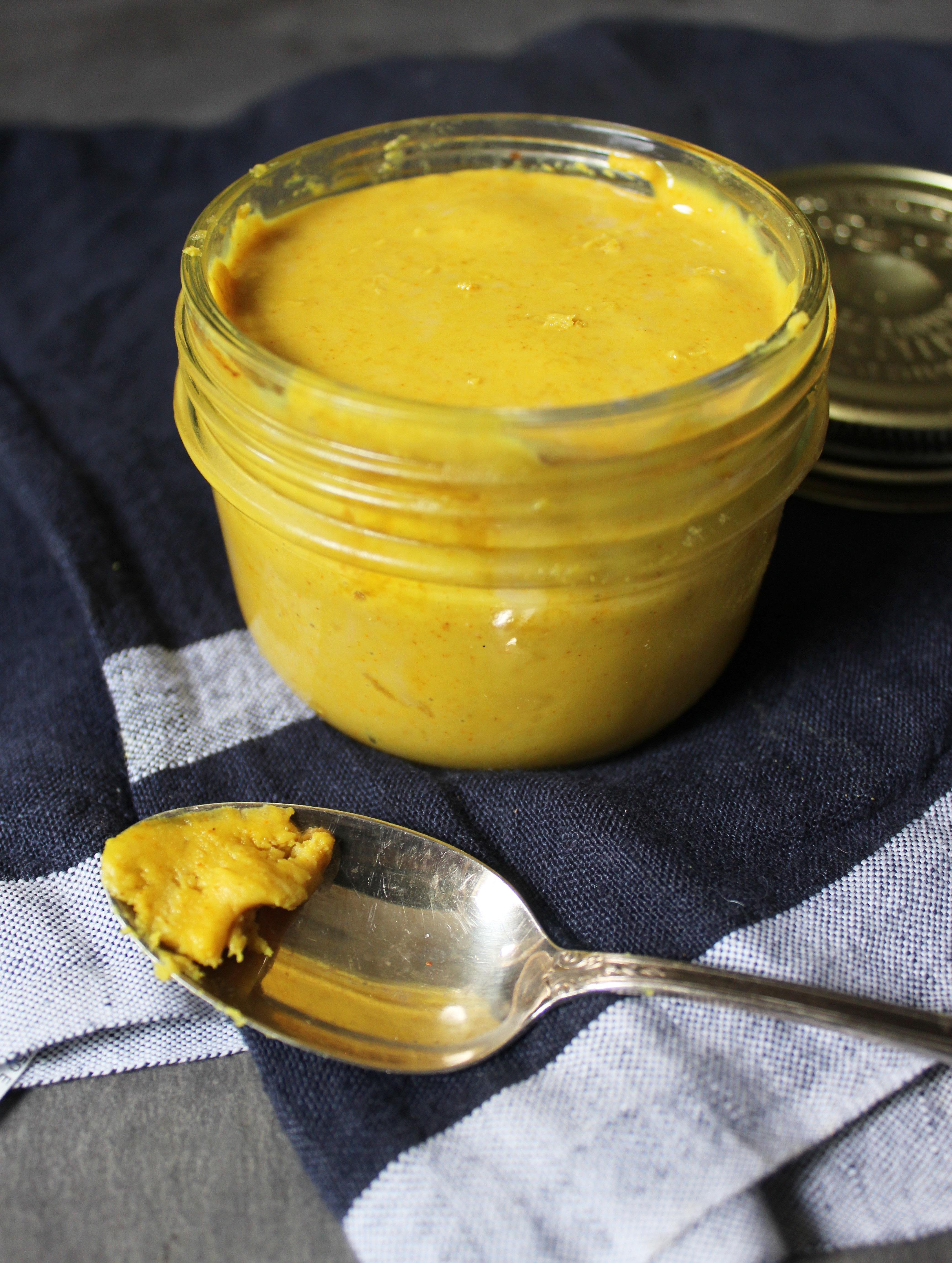Turmeric Honey Almond Butter1