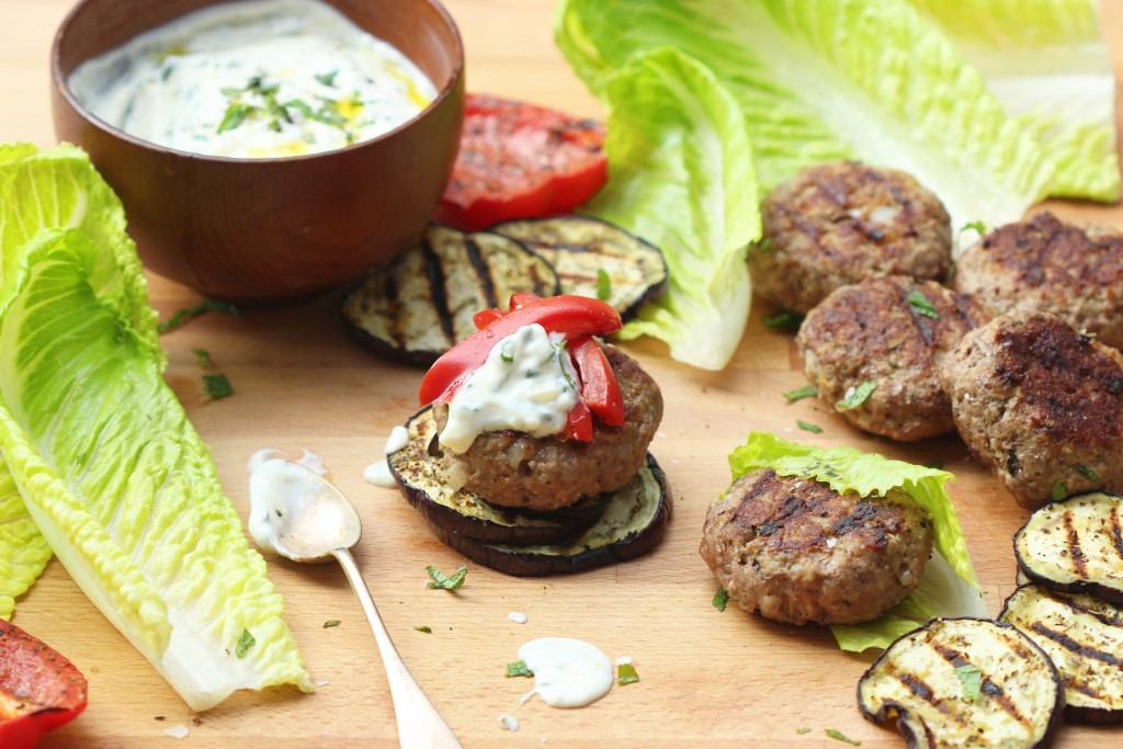 Greek Lamb Burgers 1