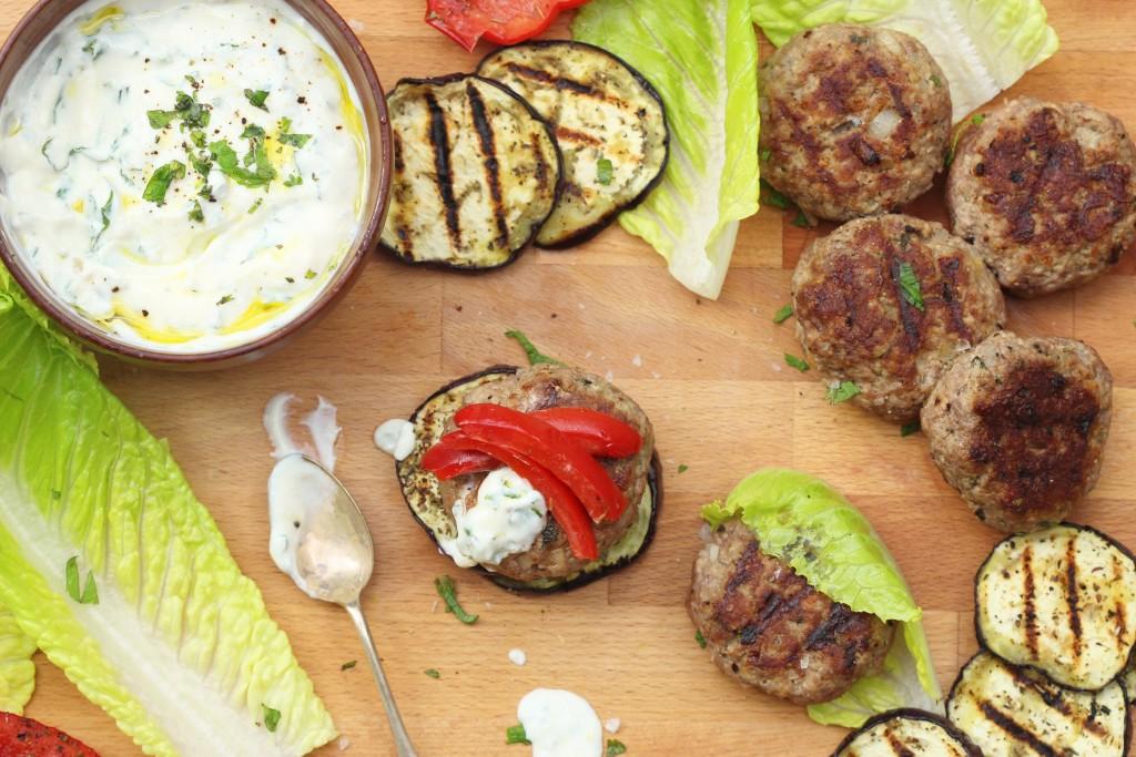 Greek Lamb Burgers 5