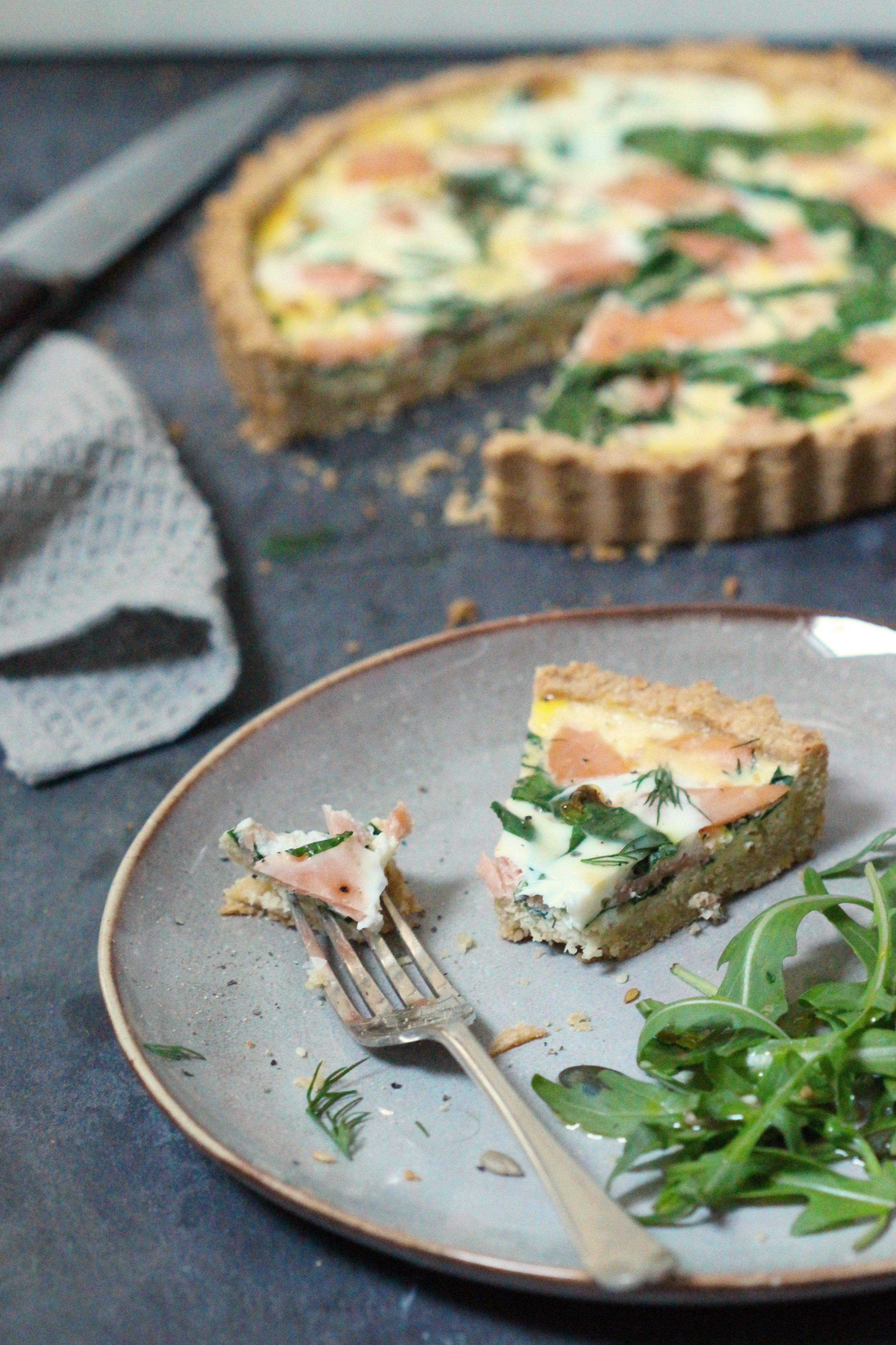 Smoked Salmon Quiche 7
