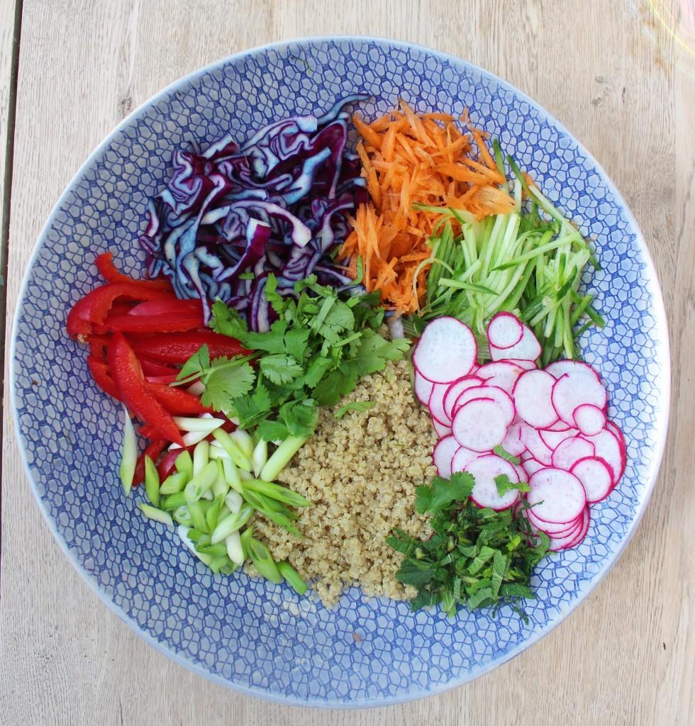 Thai Quinoa Salad Step 1