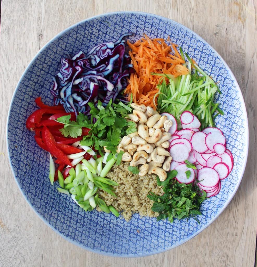 Thai Quinoa Salad Step 2