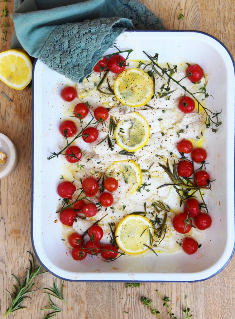 Baked Summer Sole 2