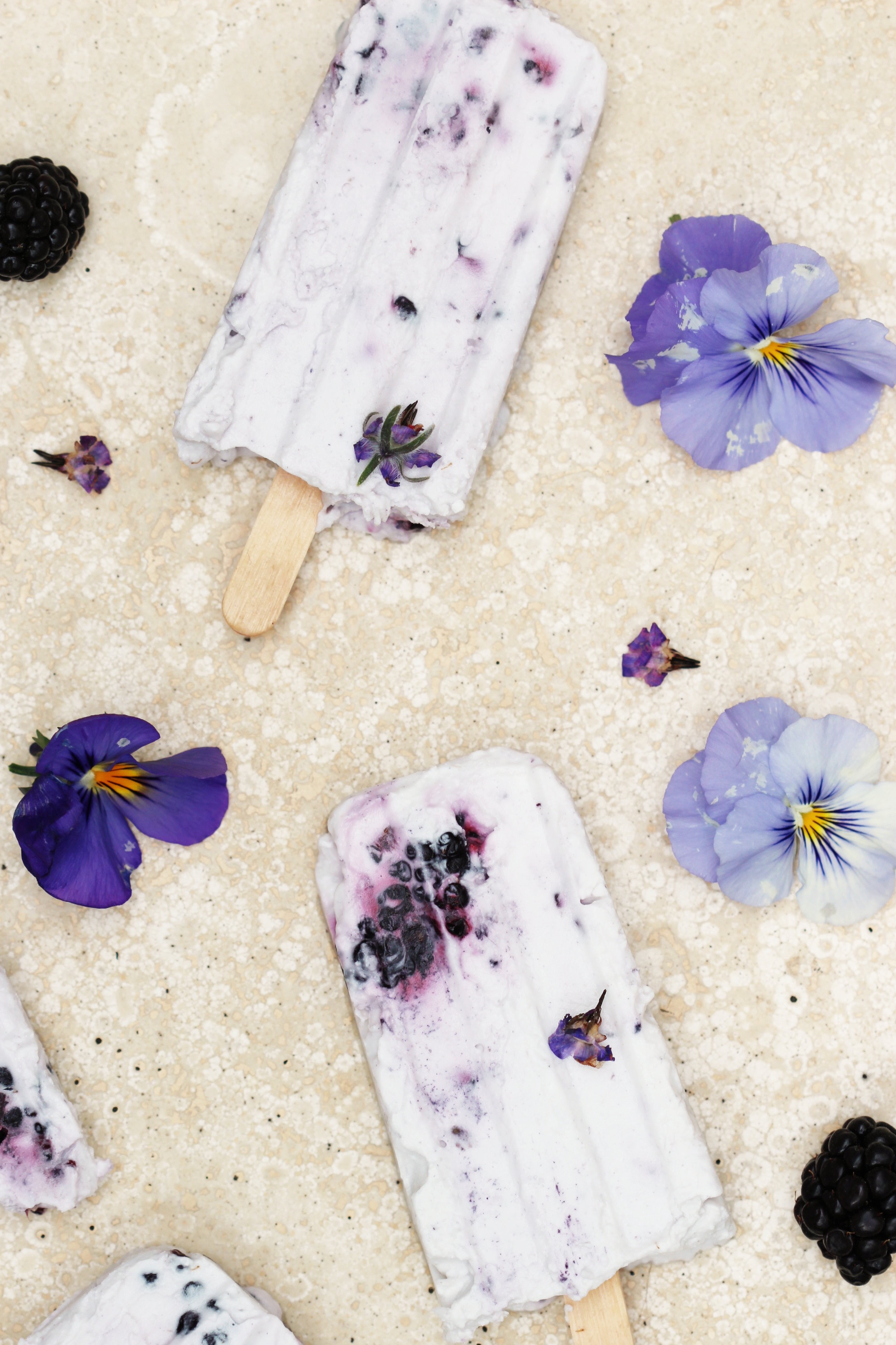 Blackberry Cream Popsicles 3