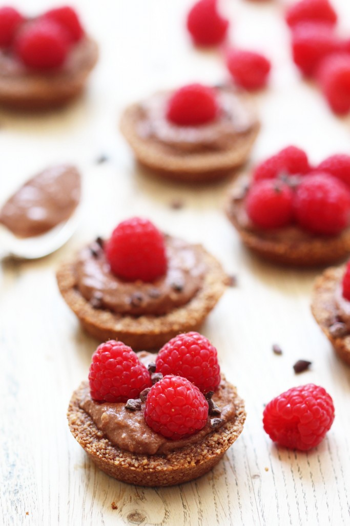 Chocolate Cream Raspberry Tartlets2