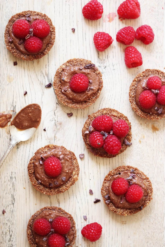 Chocolate Cream Raspberry Tartlets4