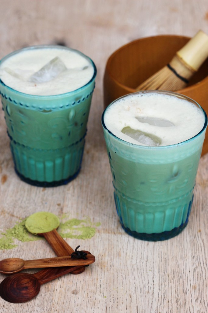 Iced Matcha Latte 3