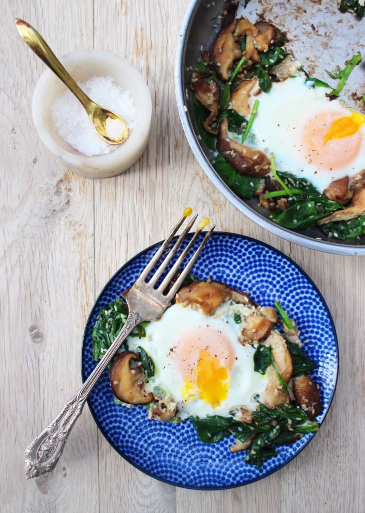 Shitake & Sesame Eggs 3