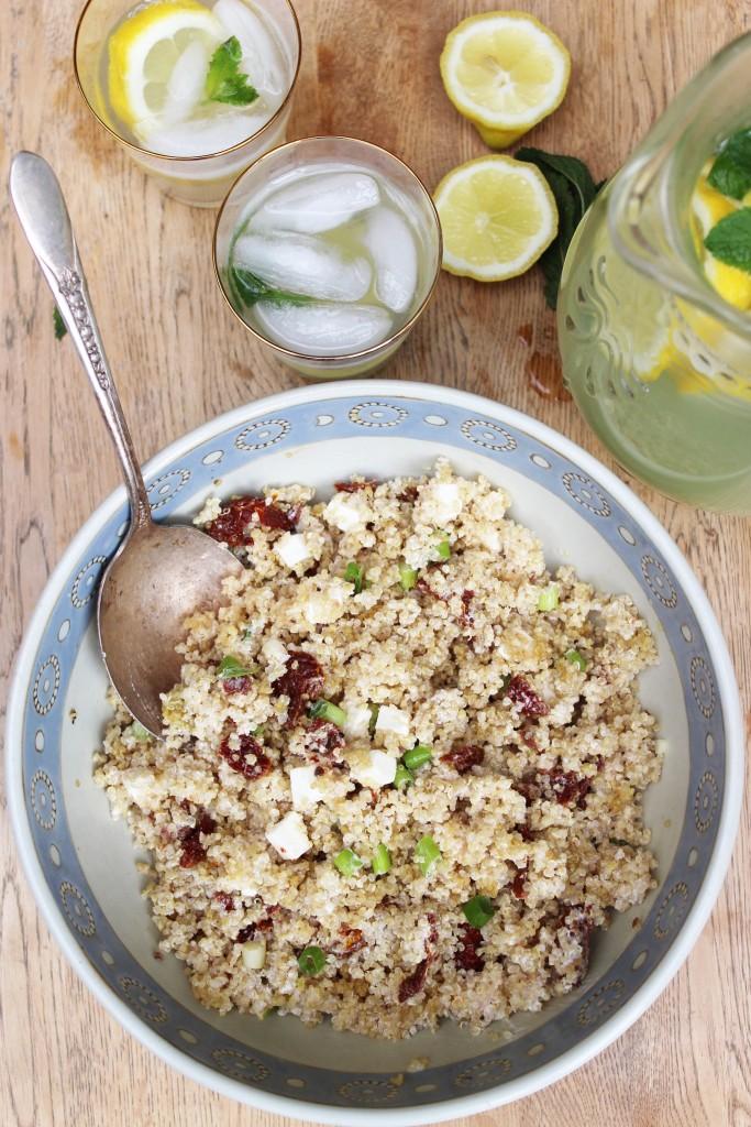 Sundried tomato quinoa salad 2