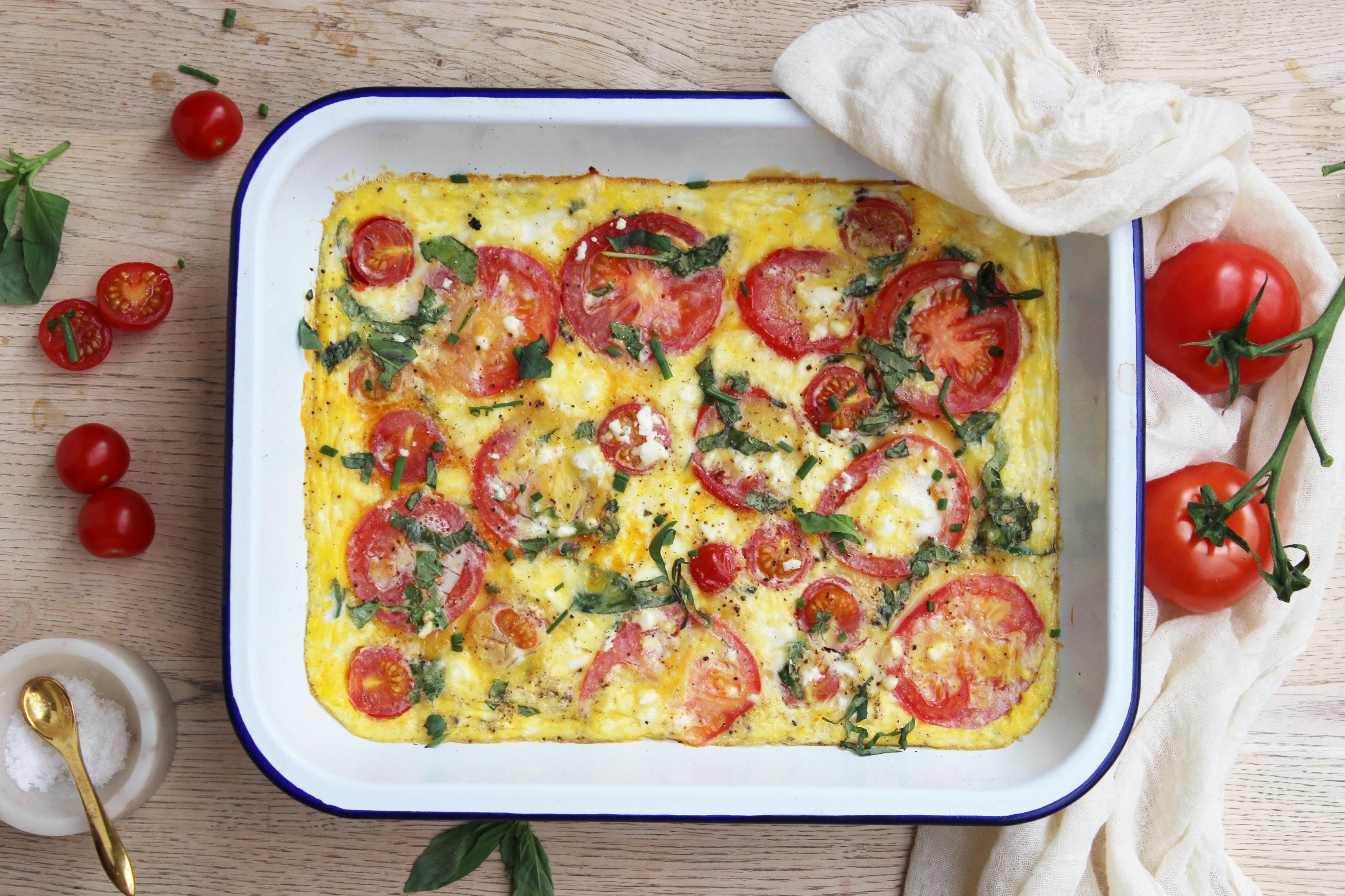 Tomato Frittata 2