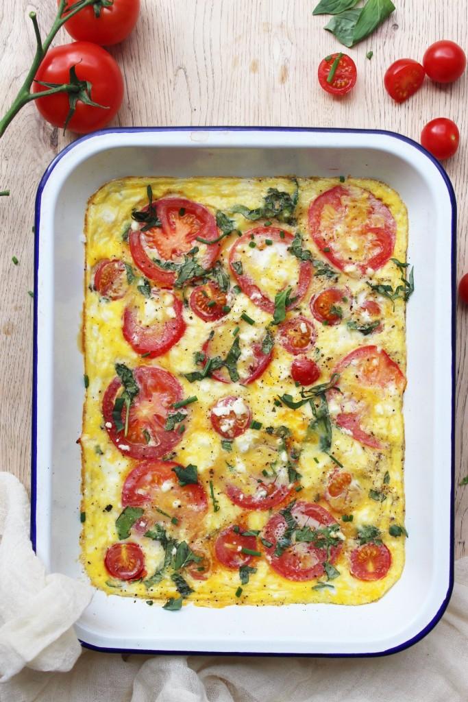 Tomato Frittata 6