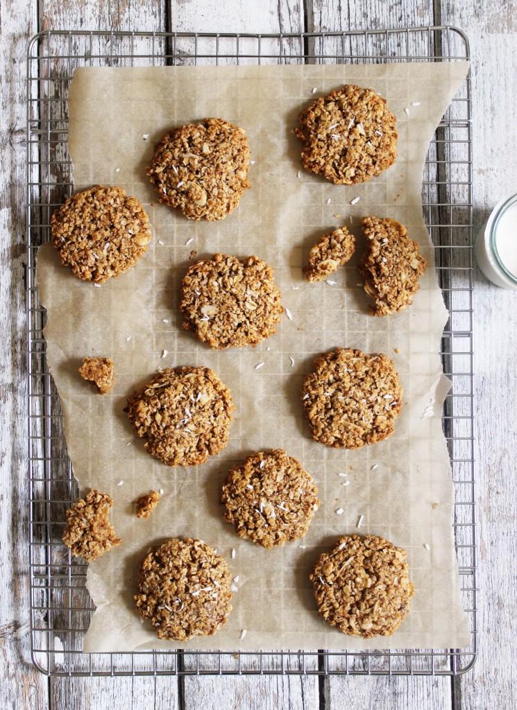 Coconut Oat Cookies 1
