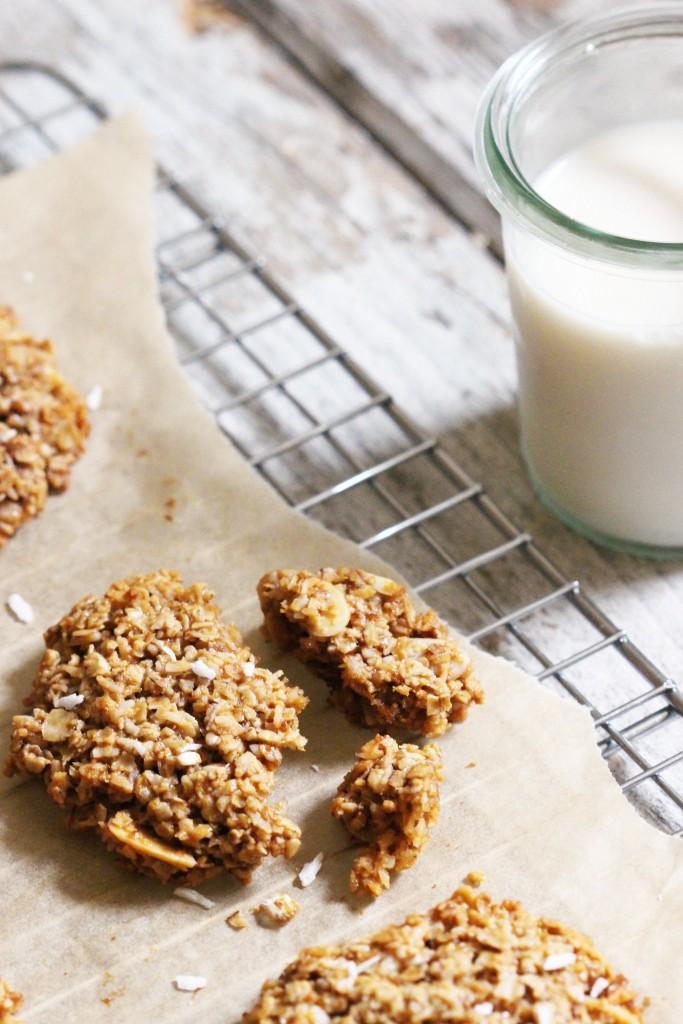 Coconut Oat Cookies 10