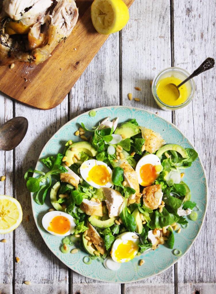 Roast Chicken Salad 1