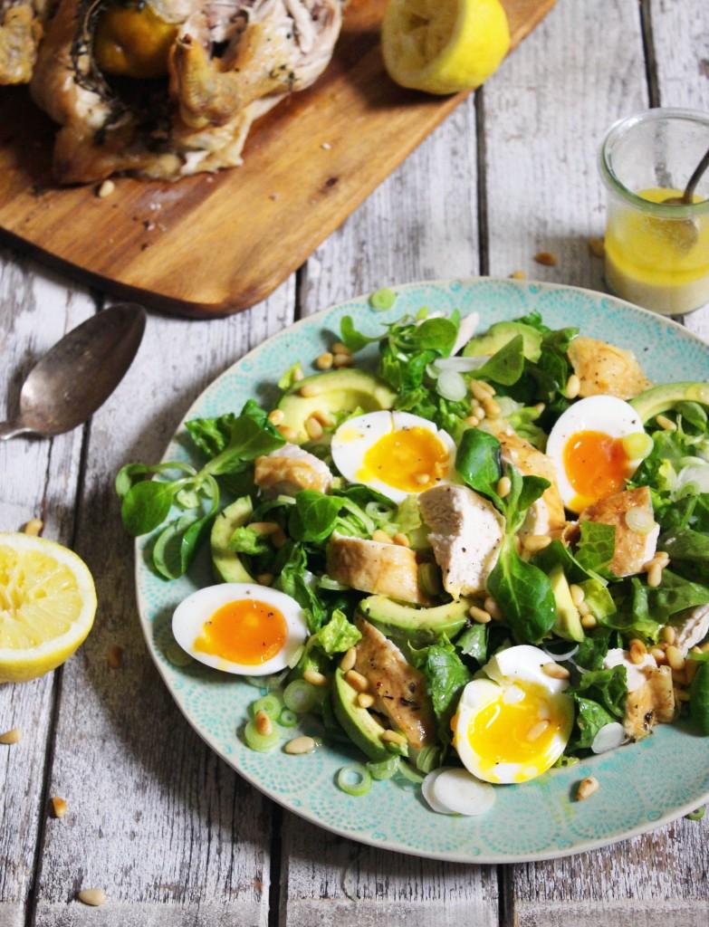 Roast Chicken Salad 4