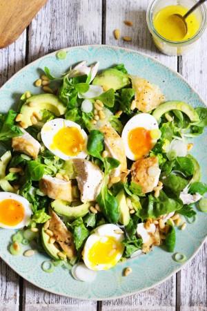 Roast Chicken Salad 6