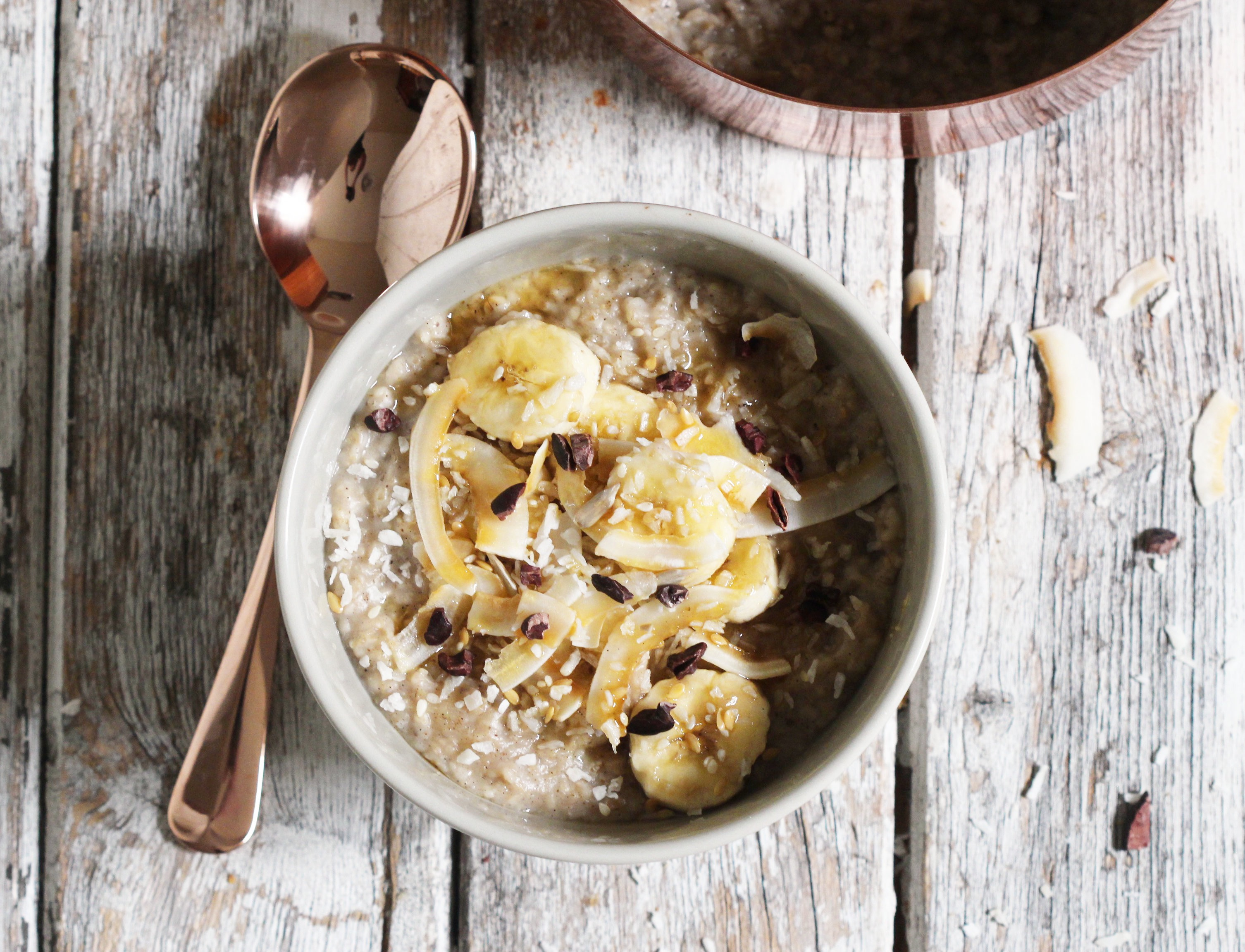 Coconut Banana Porridge 6