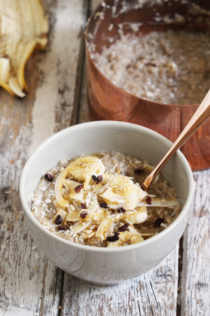 Coconut Banana Porridge 8