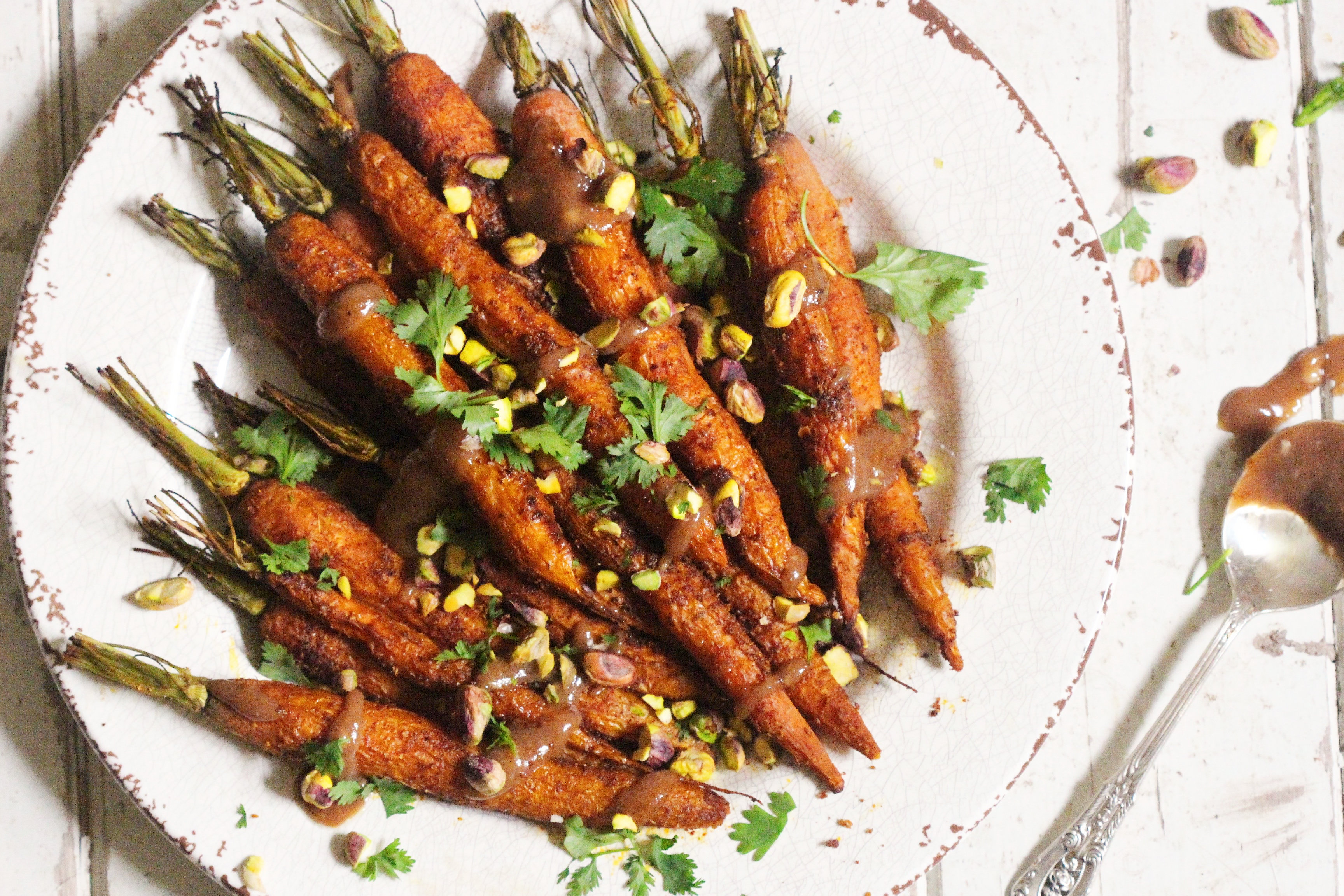 Carrots with Tahini Drizzle 1