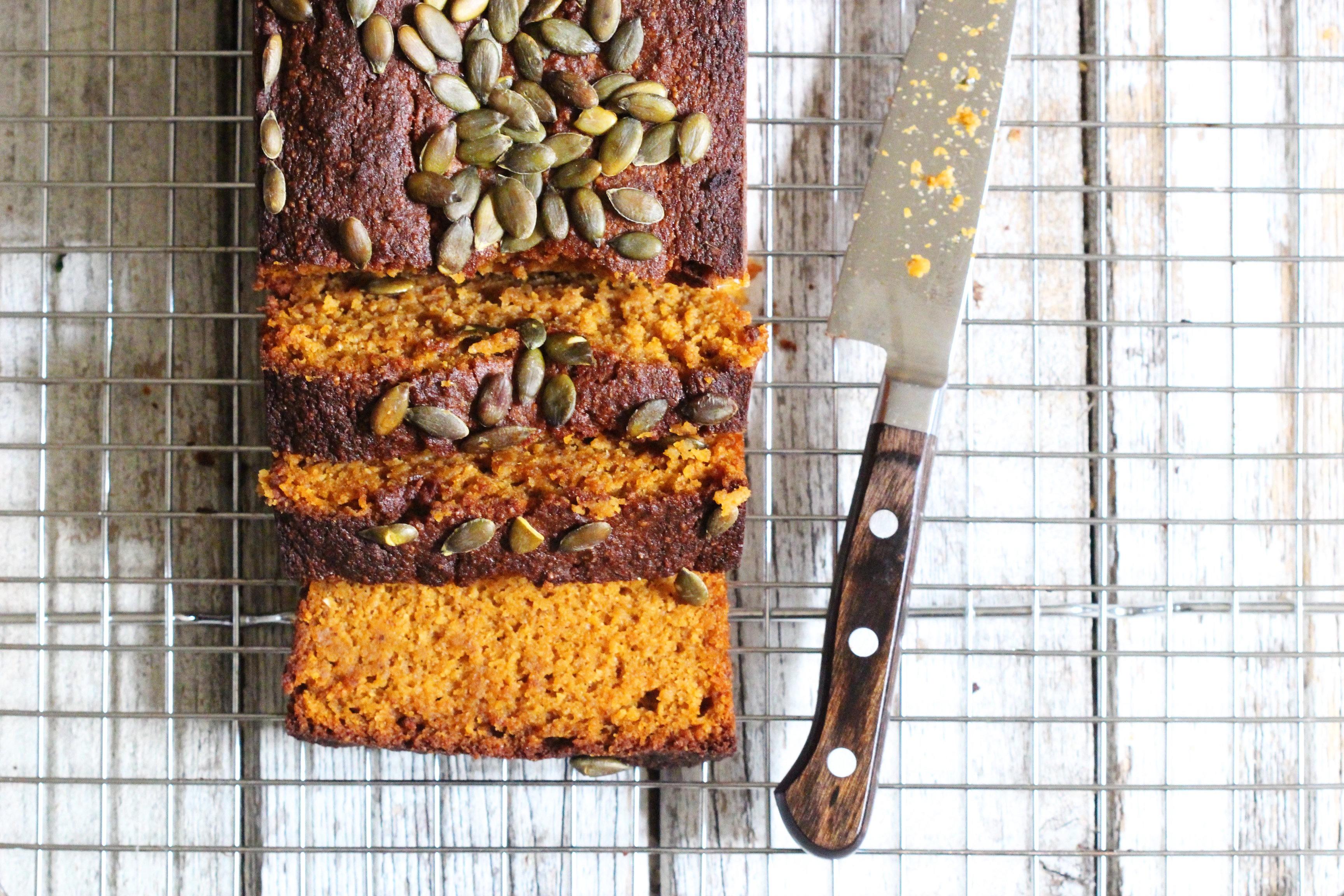 Pumpkin Spice bread 4