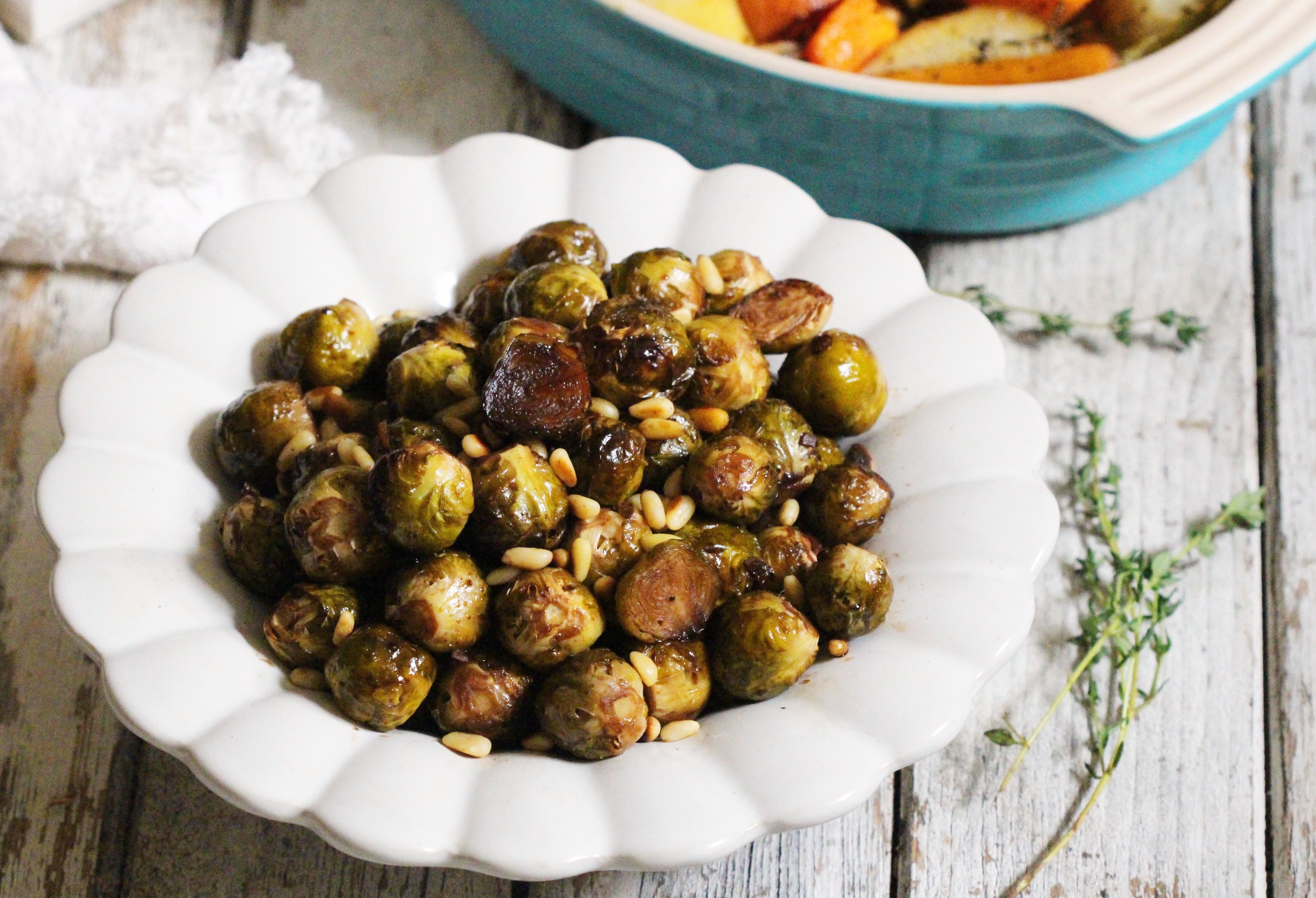 Maple Balsamic Brussel Sprouts 1