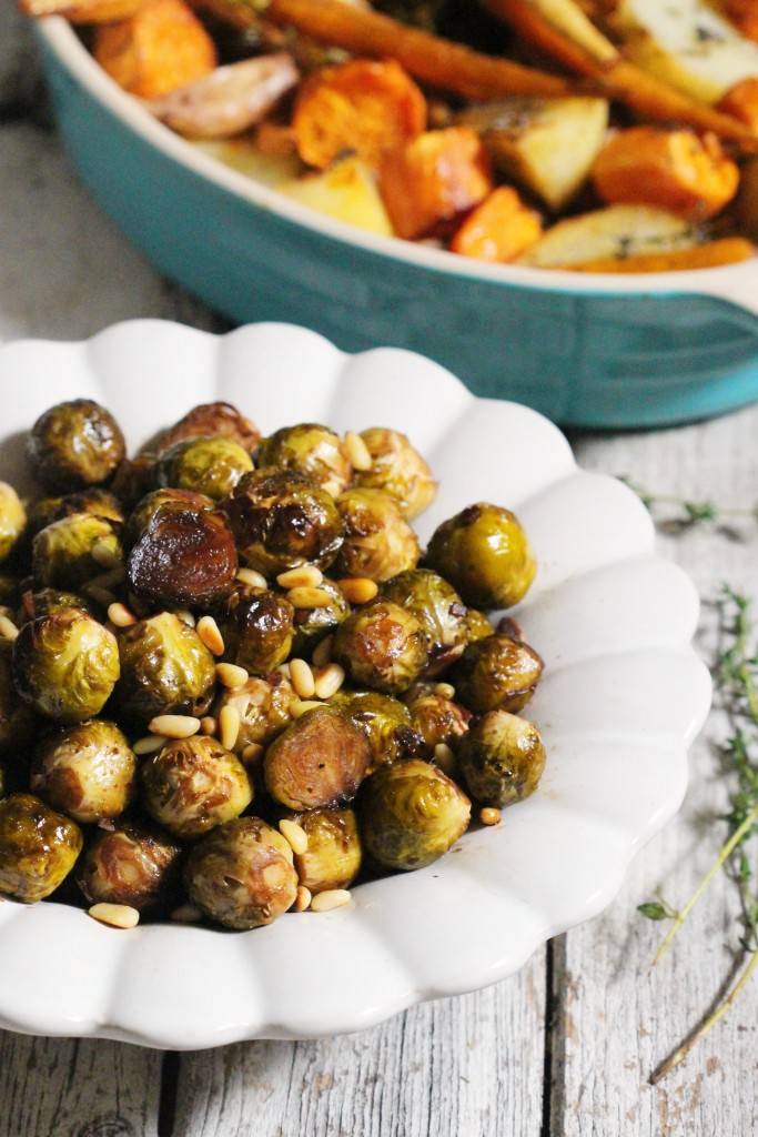 Maple Balsamic Brussel Sprouts 6