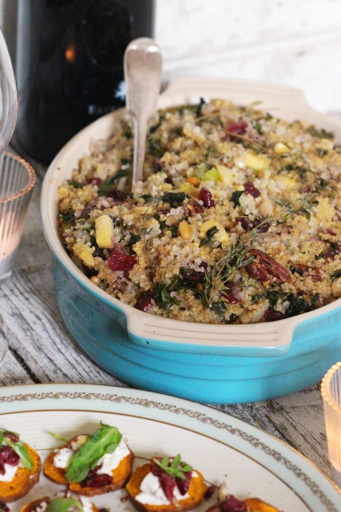 Quinoa Stuffing 1