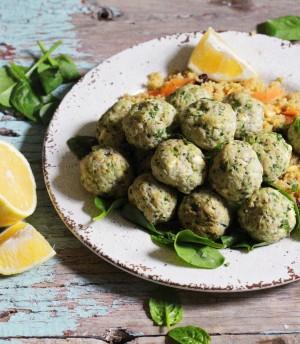 Feta Spinach Turkey Meatballs 2