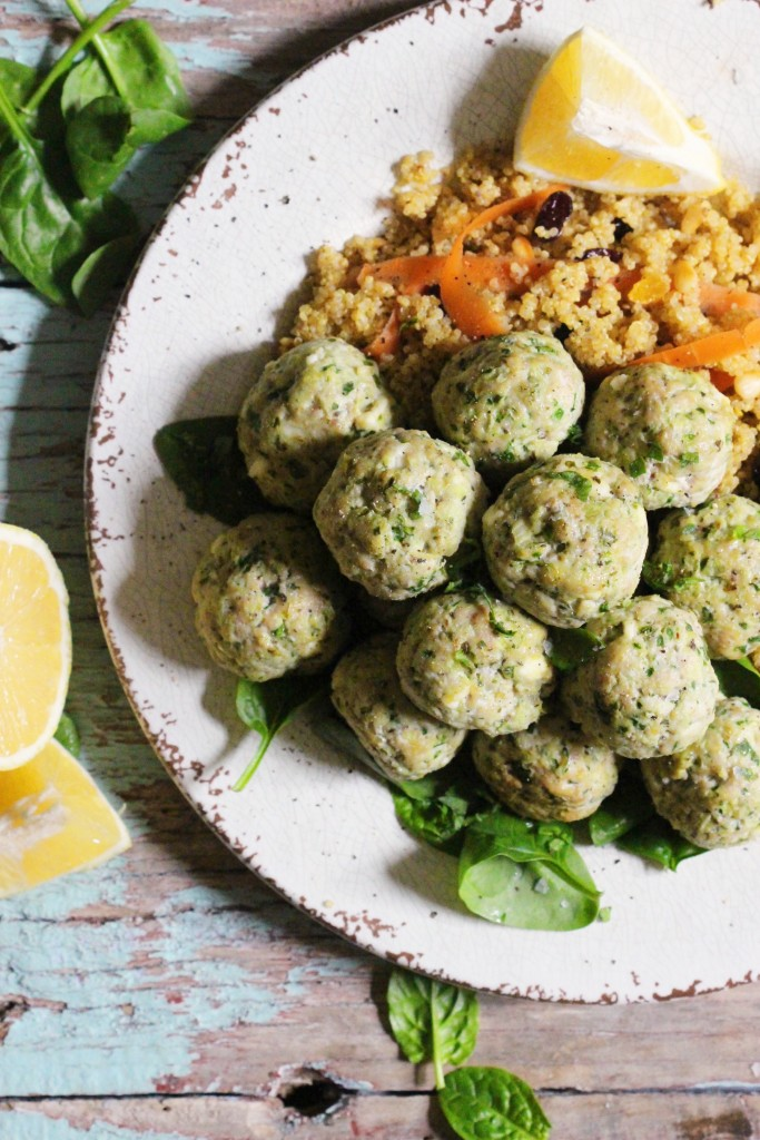 Feta Spinach Turkey Meatballs 3