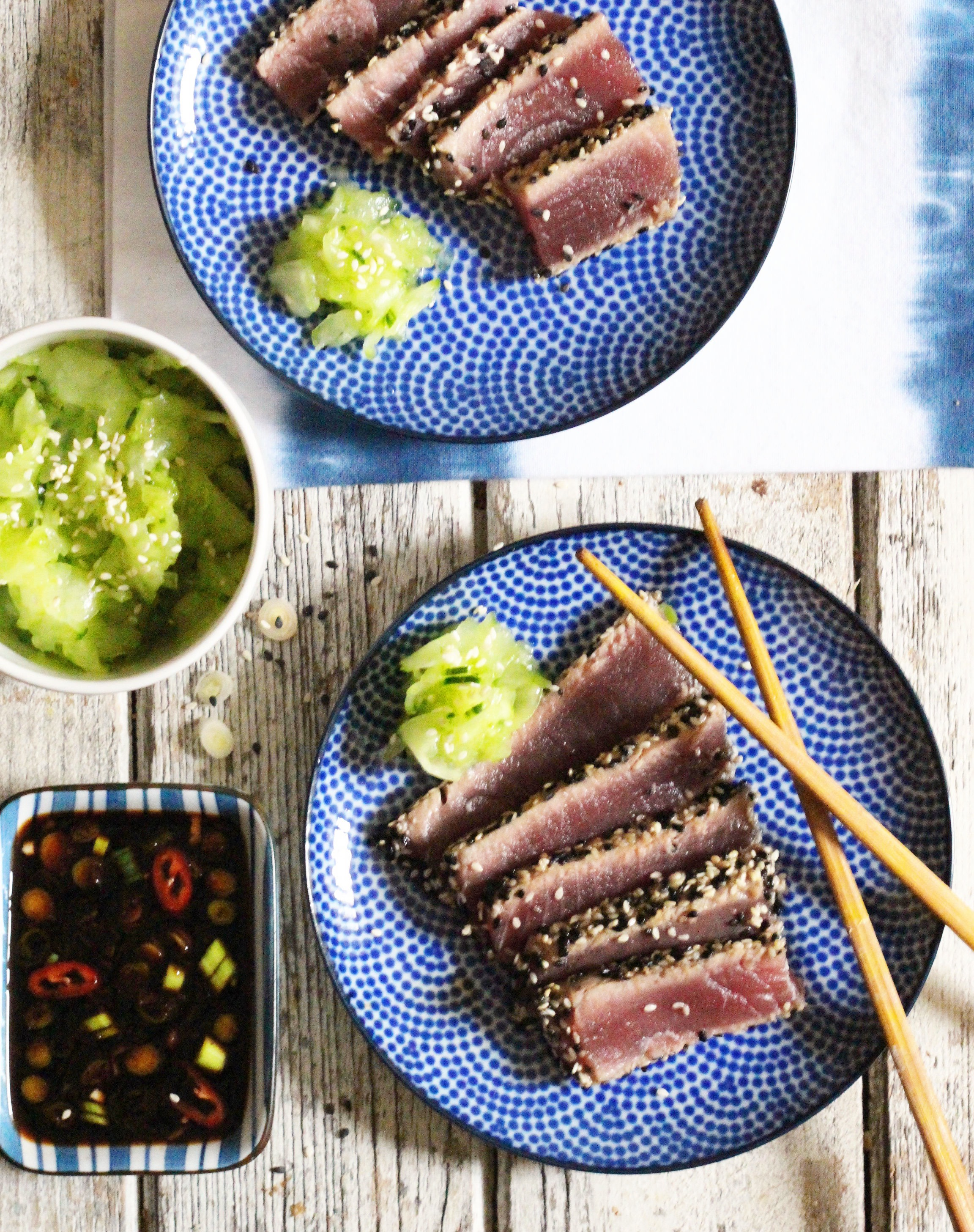 Seared Sesame Tuna 3