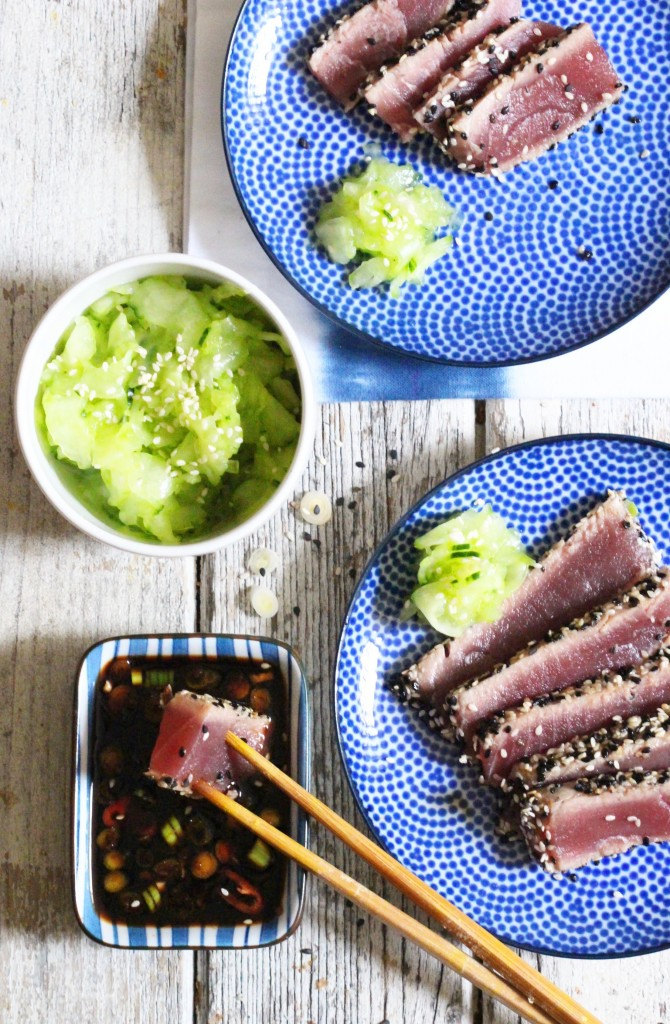 Seared Sesame Tuna 5