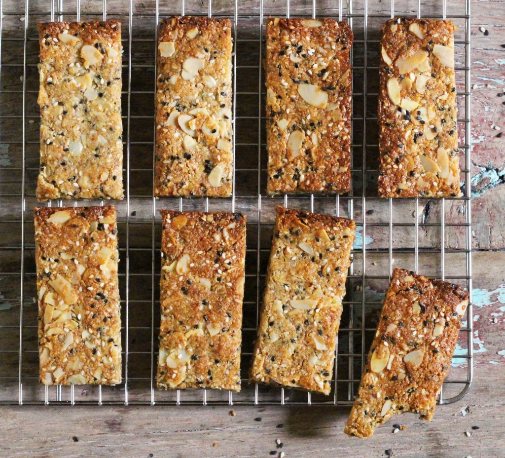 Almond Sesame Bars 4