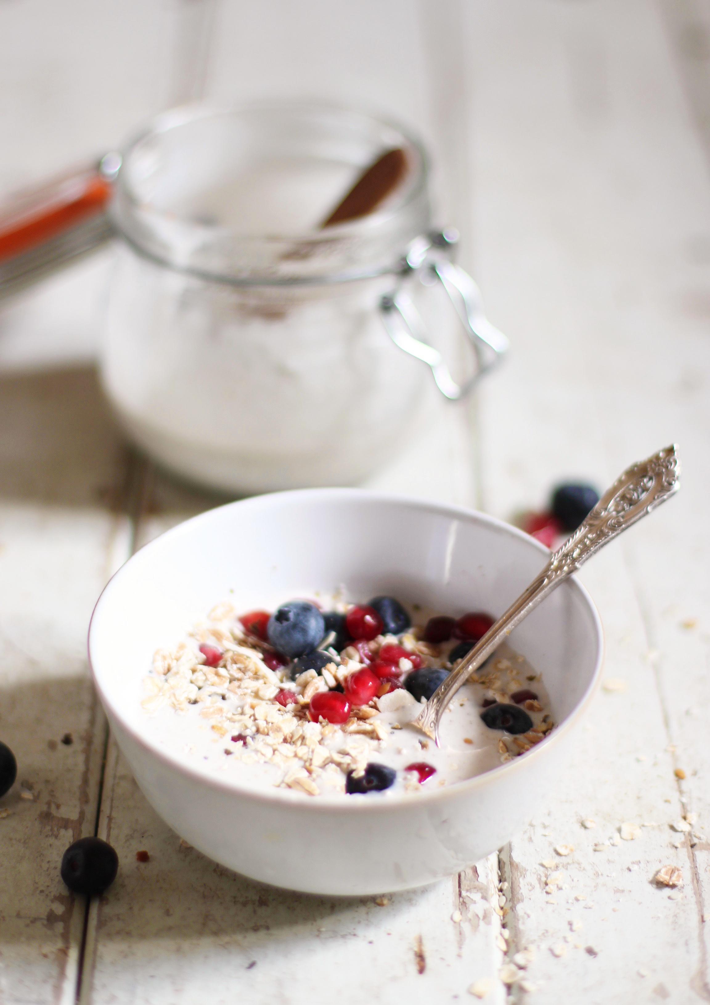 Vanilla Coconut Yoghurt 2
