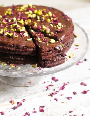 Vegan Chocolate Cake 10