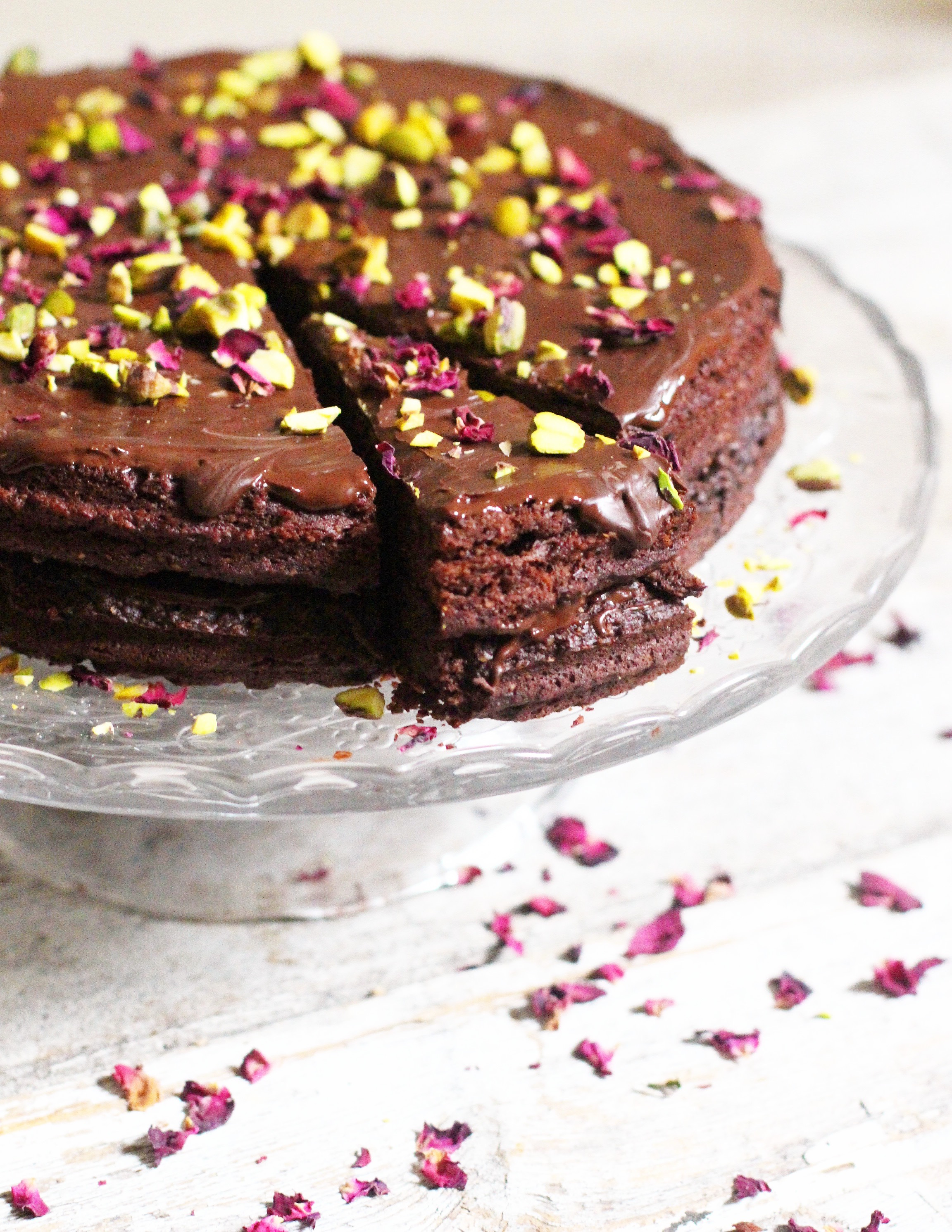 Vegan Chocolate Cake 10