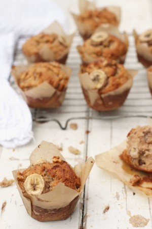 Banana Walnut Muffins 1