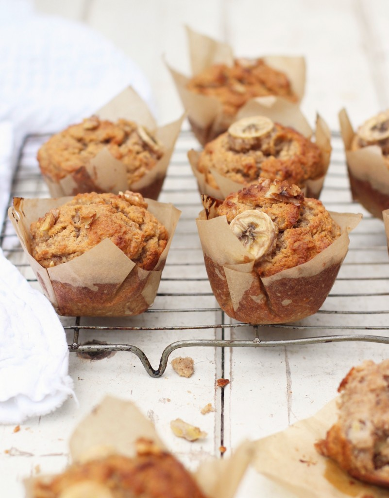 Banana Walnut Muffins 2