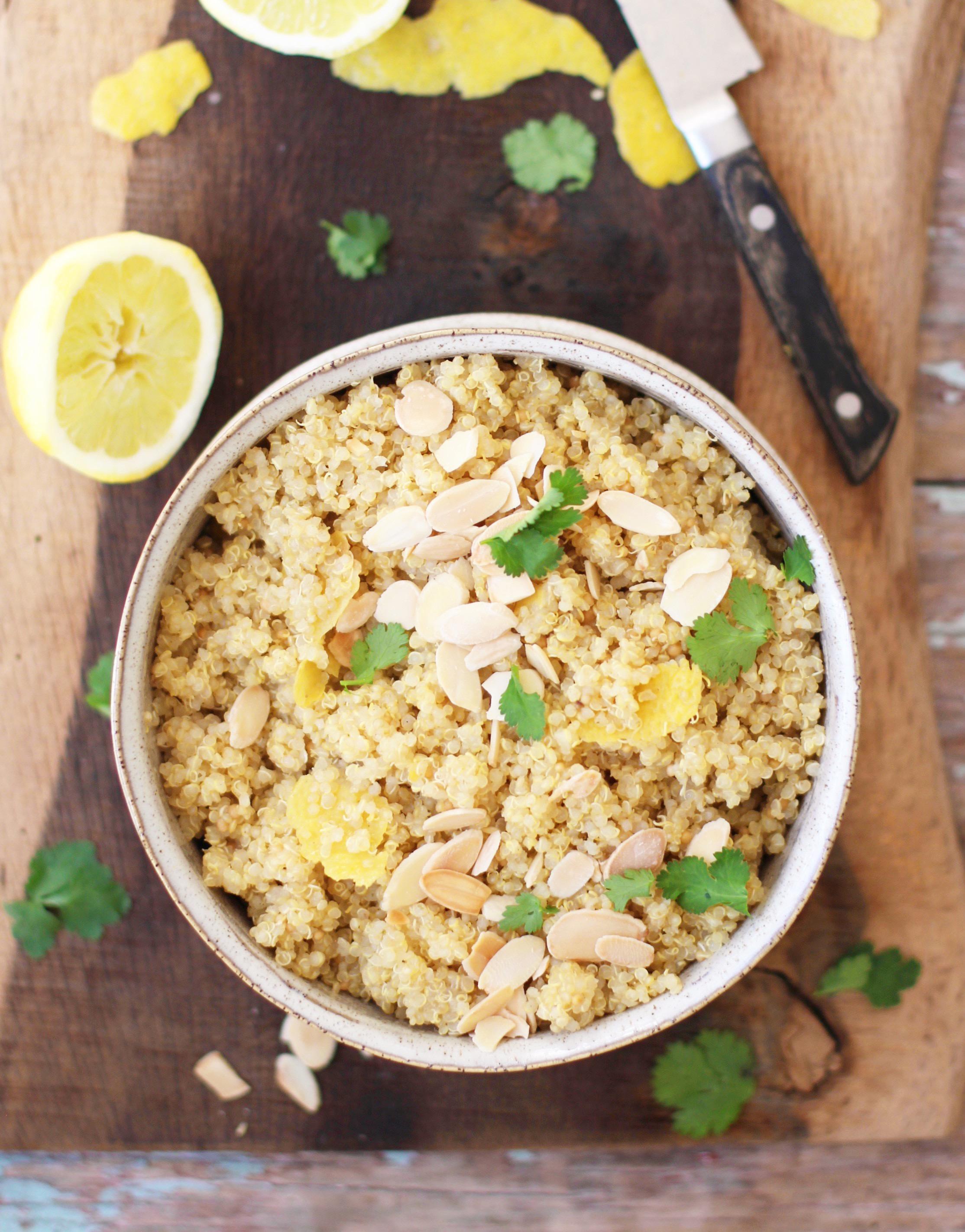 Lemon Zest Quinoa 1